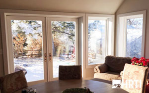 HRTI installs French doors and windows