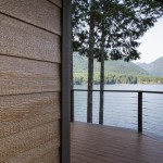 LP Smartside engineered wood siding on the side of a house