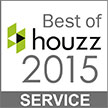 Best of Houzz Service Award 2015