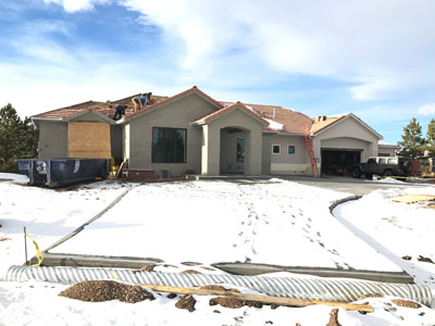 Golden Colorado home before view