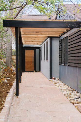Boulder Chautauqua home entry