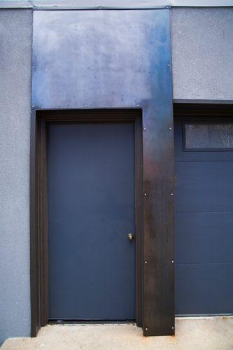 Boulder Chautauqua door view