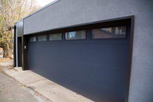Boulder Chautauqua garage door view