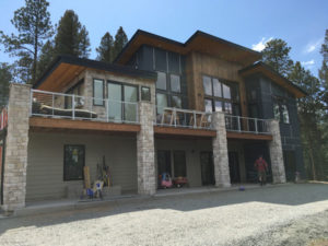 Evergreen home completed view