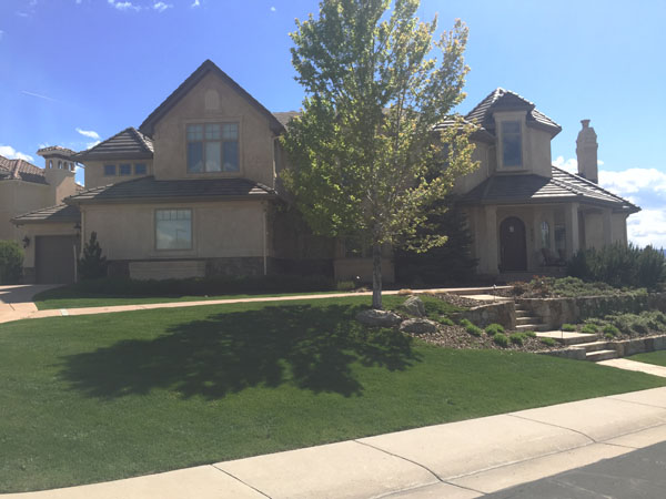 Highlands Ranch home front view