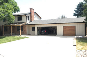 Completed Exterior Home Renovation project in Golden